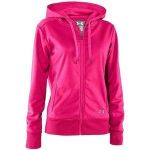 Under Armour Storm Neon Pink Zip Up Hoodie